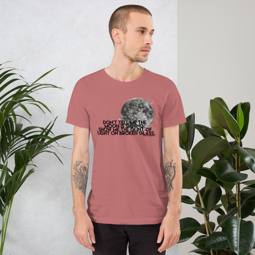 Don't Tell Me The Moon Is Shining Tee - Men's