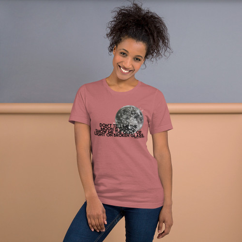 Don't Tell Me The Moon Is Shining Tee - Women's