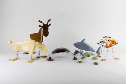 Fused Glass Critters
