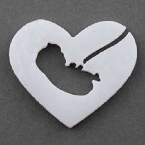 Baby in Heart PreCut