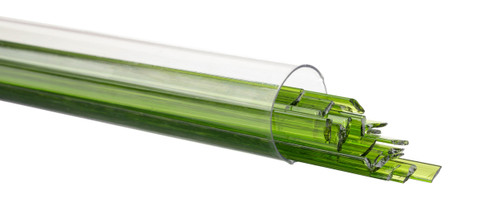 Spring Green Transparent Ribbon, Fusible, by the Tube