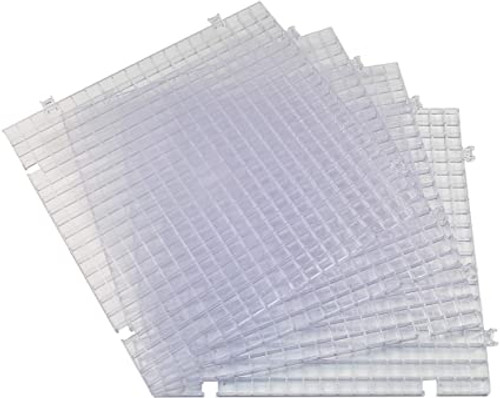 Copy of Clear Waffle Grid Surface - 4 Pack