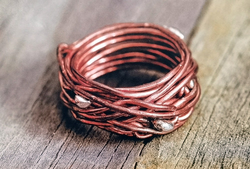 8/7 Coiled Nest Ring