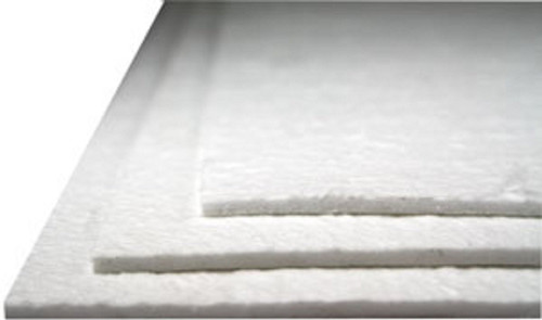 Soft Fiber Paper for Glass Fusing and Slumping