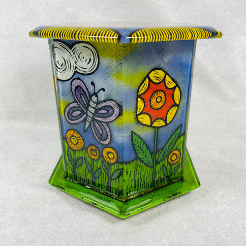 5/13-16 Reverse Glass Enameling 3D Boxes with Cheryl Chapman