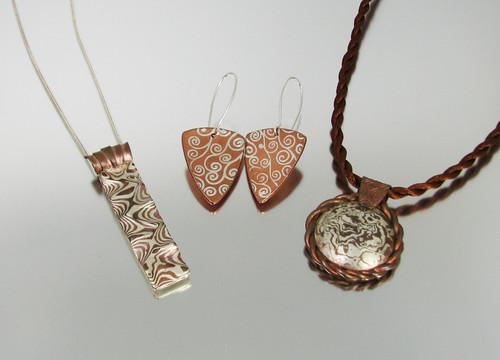 12/11-12 Art Clay Silver and Copper Mokume-Gane