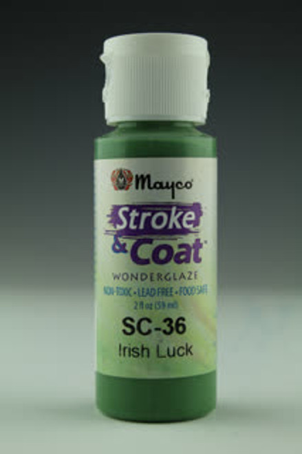 Stroke & Coat Irish Luck