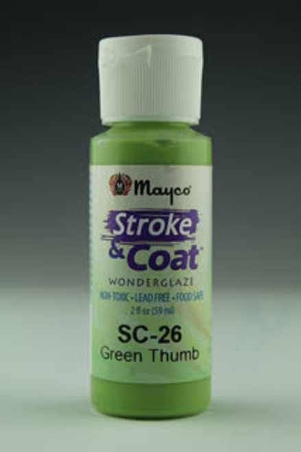 Stroke & Coat Green Thumb