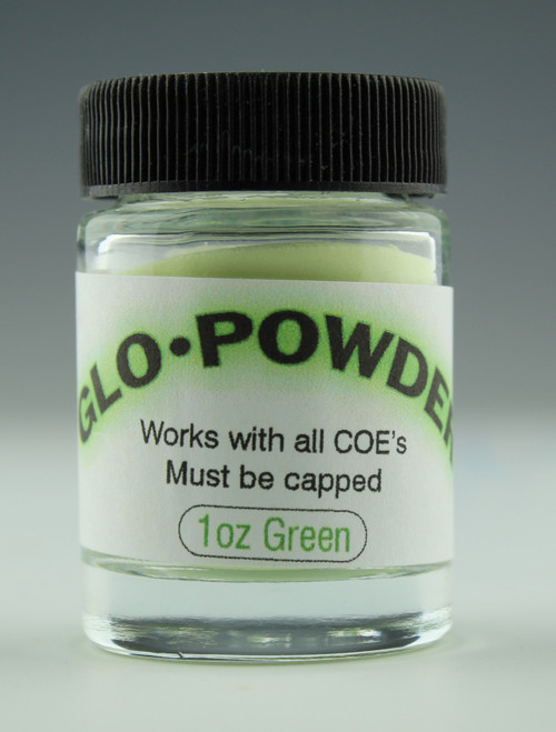 1oz GLOW POWDER GREEN