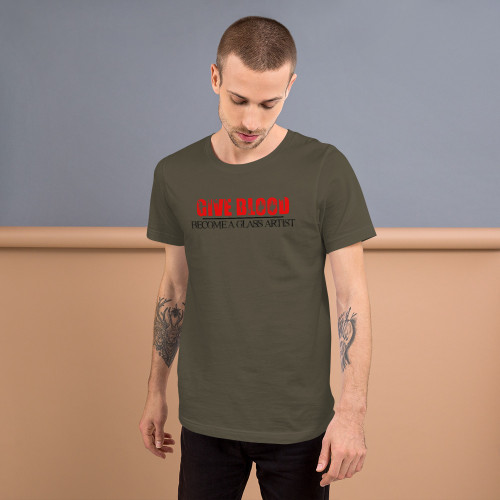 Give Blood, Become A Glass Artist Tee - Men's