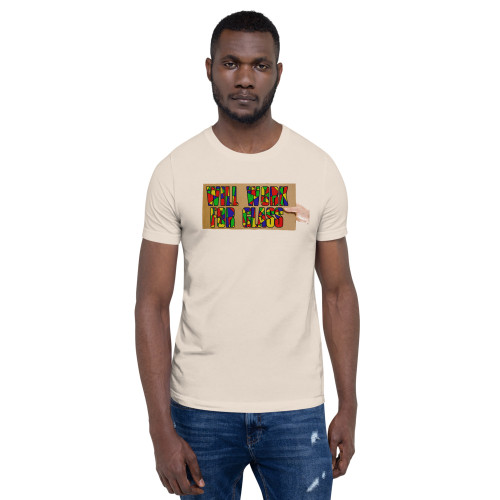 Will Work For Glass Tee - Men's