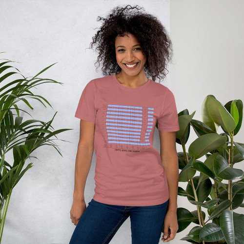 Annealing Thick Slabs (Upside Down) Tee - Women's