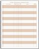 MI Attendance Book, 42 names per page (SSCA10D10-1)