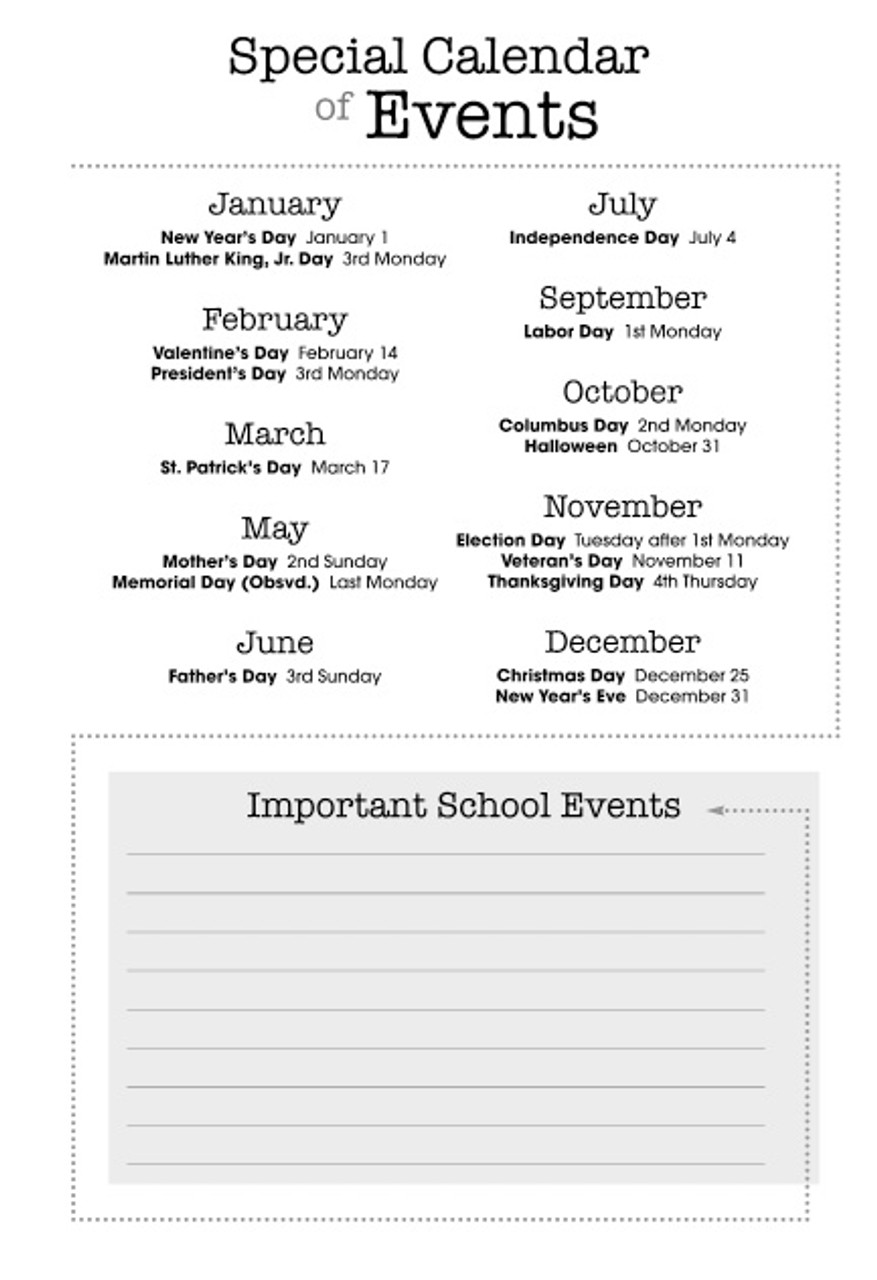 Student Planners - Jr / Sr High (SAB)