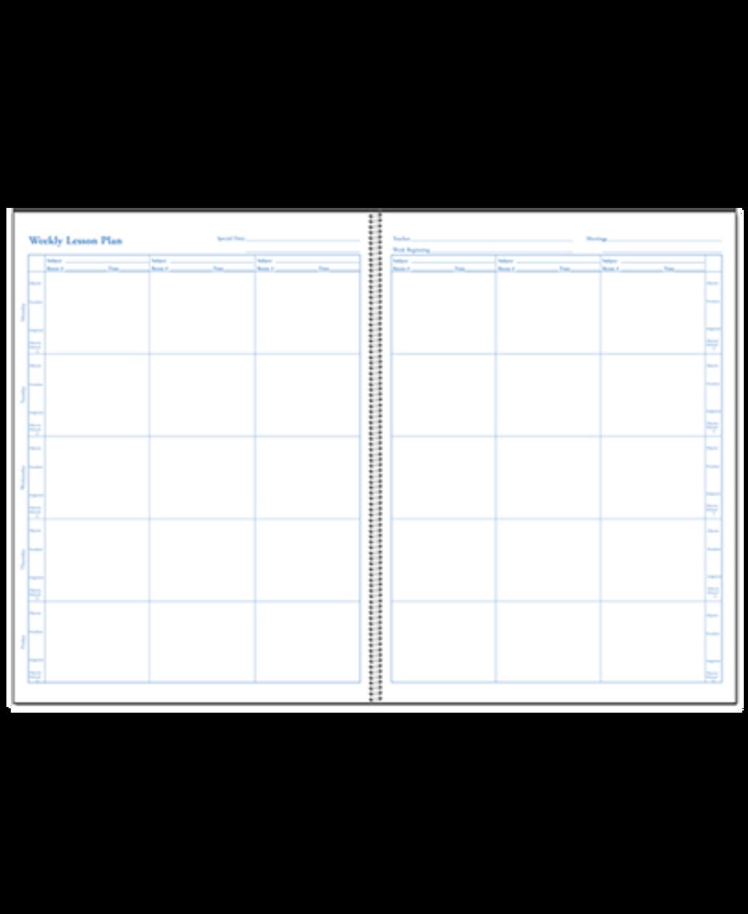 Teachers Daily Plan Book Duplicate (466D)