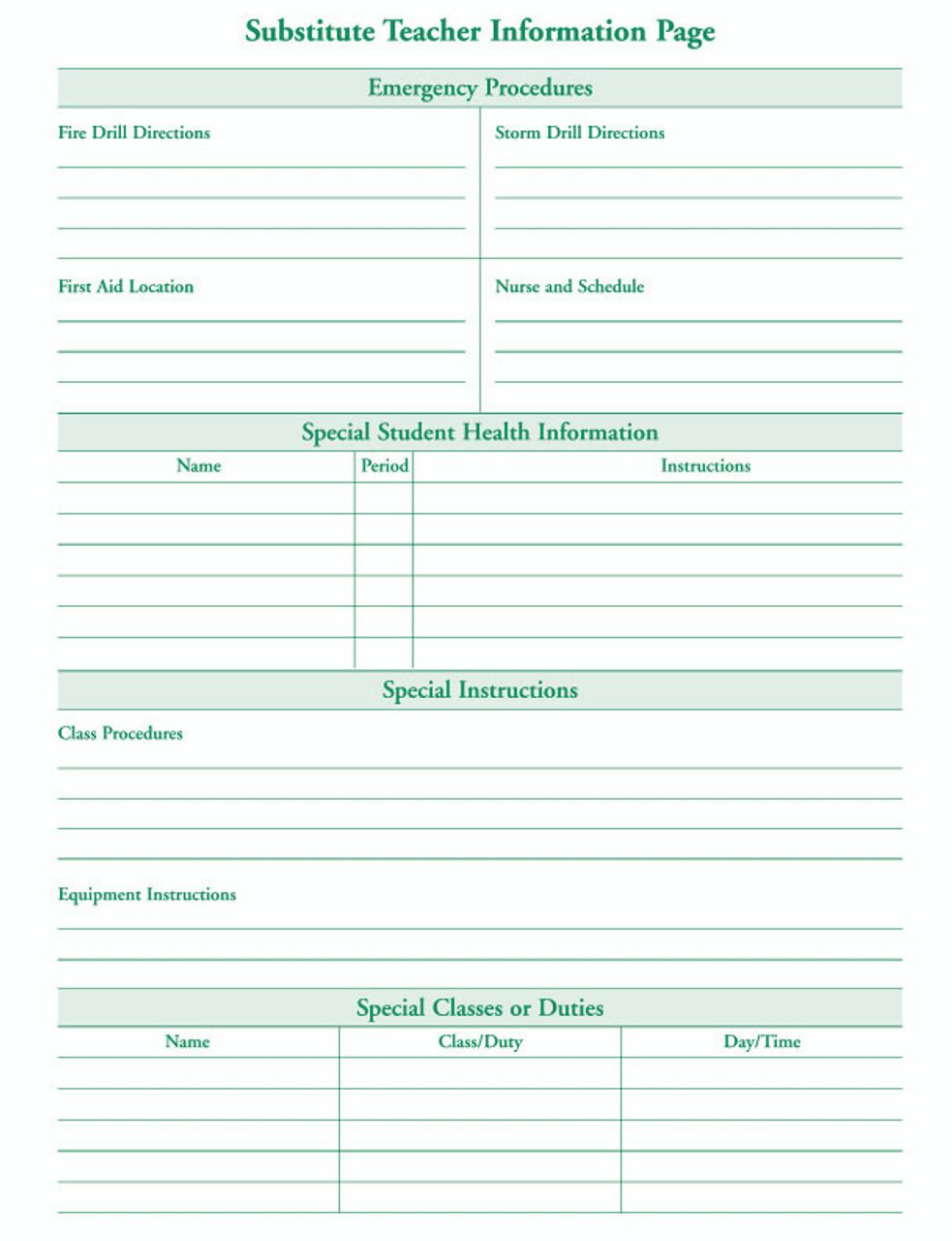 Teachers Daily Plan Book (4222)