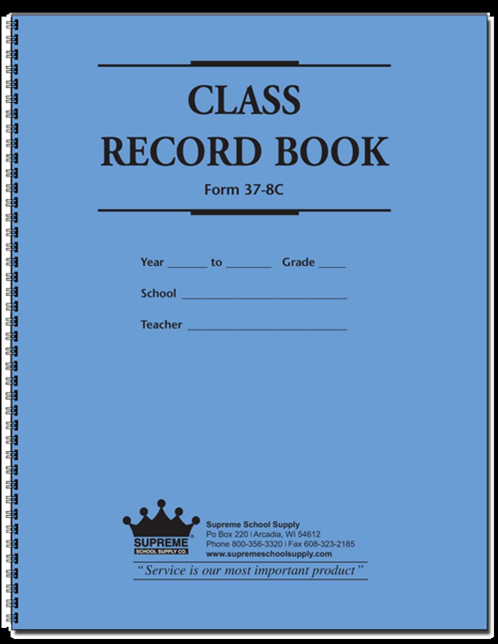 Class Record & Plan Book, 9-Week (37-8C)
