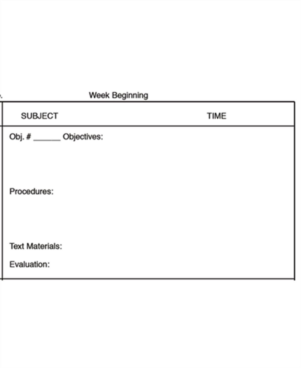 Teachers Plan Book (20)