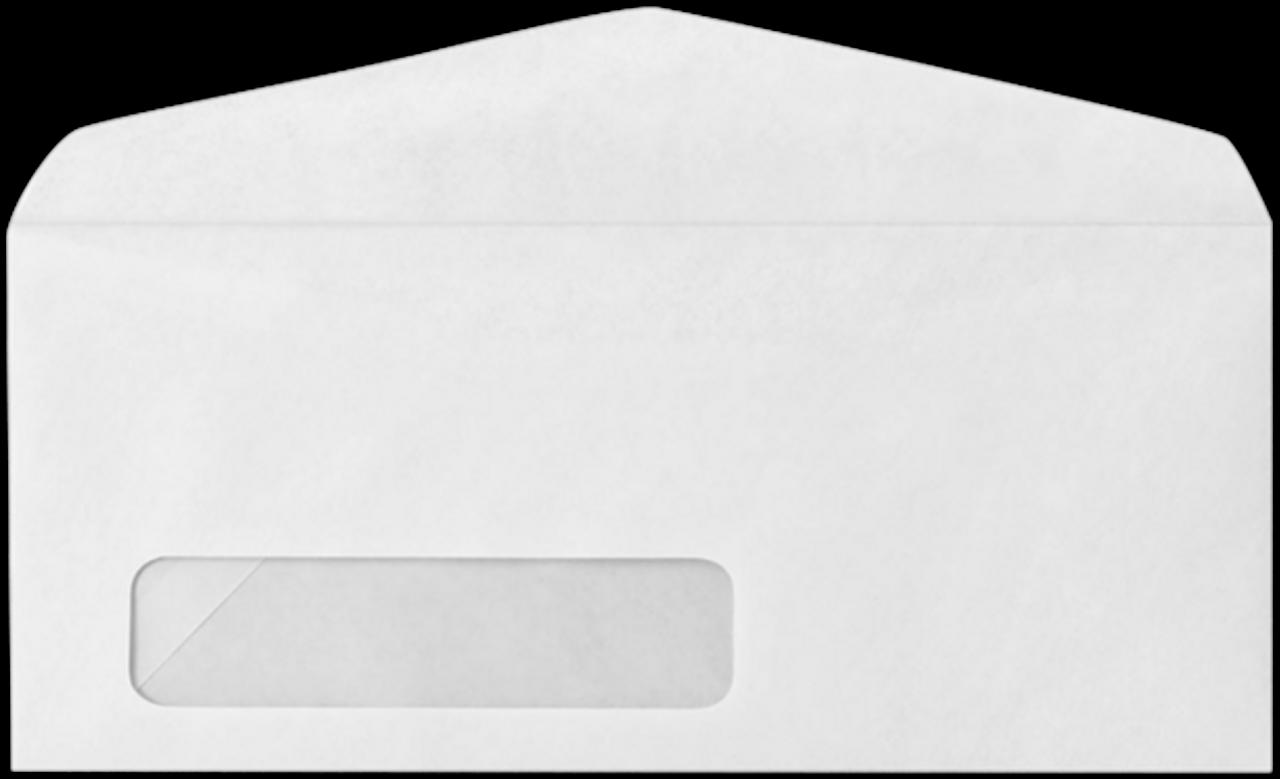 Custom #10 Size Envelopes - With Window