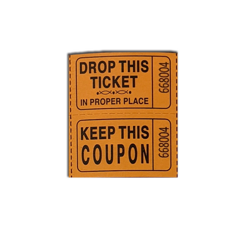 Roll Tickets - Double (RTD)