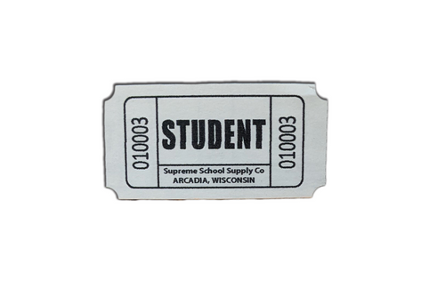 """""""Student"""" Roll Tickets (RT-S)"""