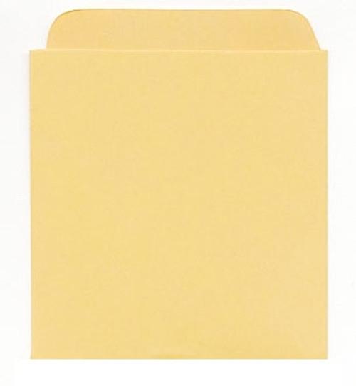 Plain Book Pocket, Self-Adhesive (95A)