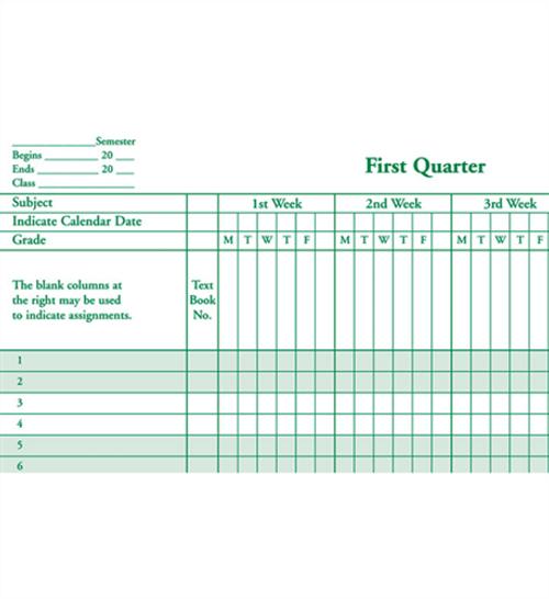 Class Record & Plan Combo Book (910-8LGNC)