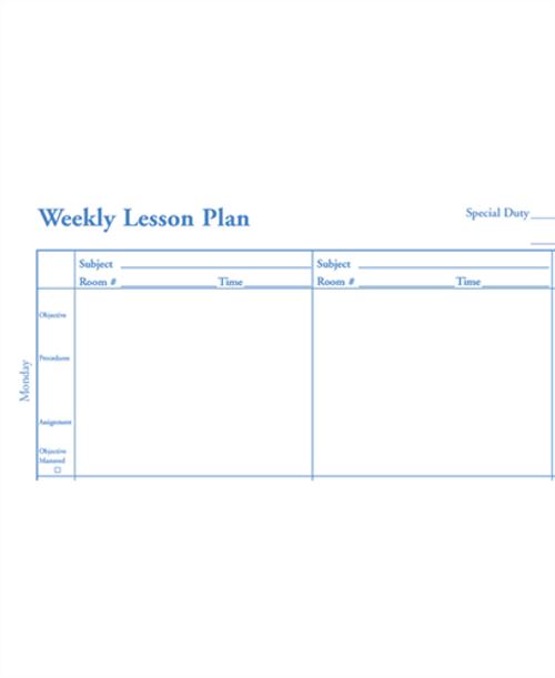Teachers Daily Plan Book 6 Subject (466)
