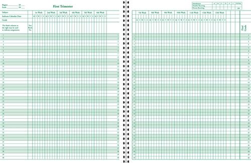 Class Record & Plan Book (1213-8C)