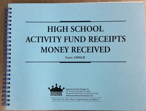 Activity Fund - Money Received Duplicate (109NCR)