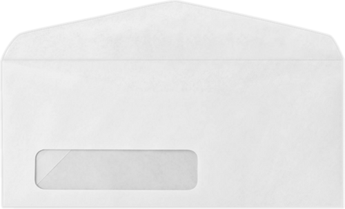 Custom #10 Size Envelopes - With Window