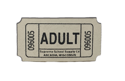 """""""Adult"""" Roll Tickets (RT-A)"""