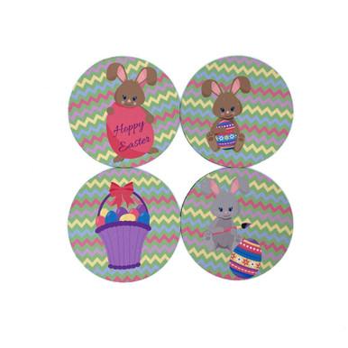 Easter Egg Coasters Set of 4