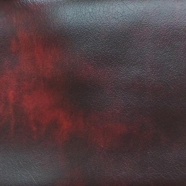 Clarissa Burgundy Leather Sample