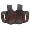 1791 GUNLEATHER MAG 2.1 Double Mag Single Stack Signature Brown Holster (MAG-2.1-SBR-A)