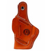 1791 GUNLEATHER BHT4 4 Way Thumb Break Classic Brown RH Holster (BHT-4-CBR-R)
