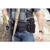 BLUE FORCE Belt Mounted Ten-Speed Black Single Pistol Mag Pouch (BT-TSP-PISTOL-1-BK)