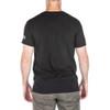 5.11 TACTICAL Dusty Blue Line Black Short Sleeve Tee (41195LKW-019)