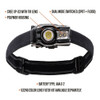 5.11 TACTICAL EDC 2AAA Black Headlamp (53420-019)