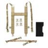 ACE LINK ARMOR Skeletac Multicam Kangaroo Pouch Harness (SKLTC-HRN-MC)