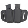 1791 GUNLEATHER MAG 2.1 Double Mag Single Stack Stealth Black Holster (MAG-2.1-SBL-A)