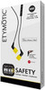 ETYMOTIC RESEARCH HD3 Safety Yellow 3 Button-Controlled Earphones (ERHD-3-SAFETY)