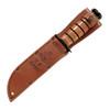 KA-BAR Army Fighting Utility Knife with Leather Sheath (1220)
