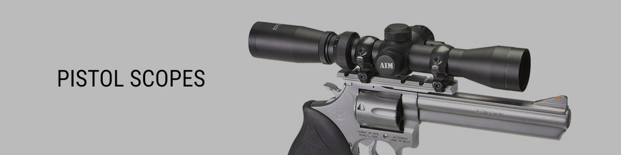 Hunting Pistol Scopes - Buy Online