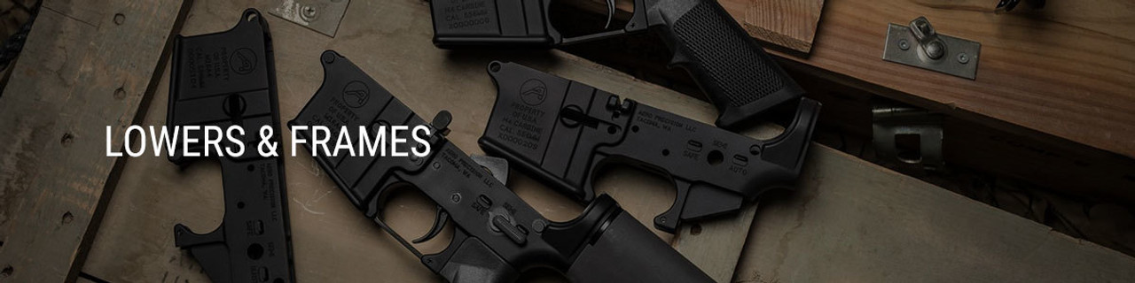 Lowers & Frames for Rifles and Shotguns