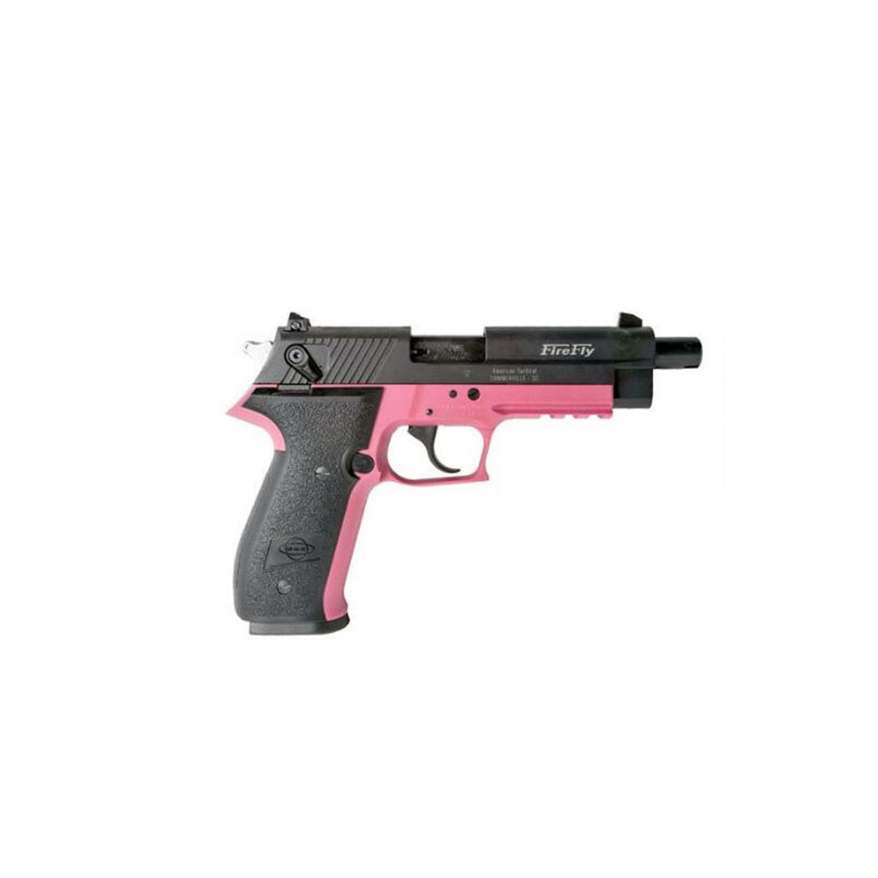 AMERICAN TACTICAL IMPORTS GSG FireFly HGA  22 LR 4in 10rd Pink  Semi-Automatic Pistol (GERG2210FFP)