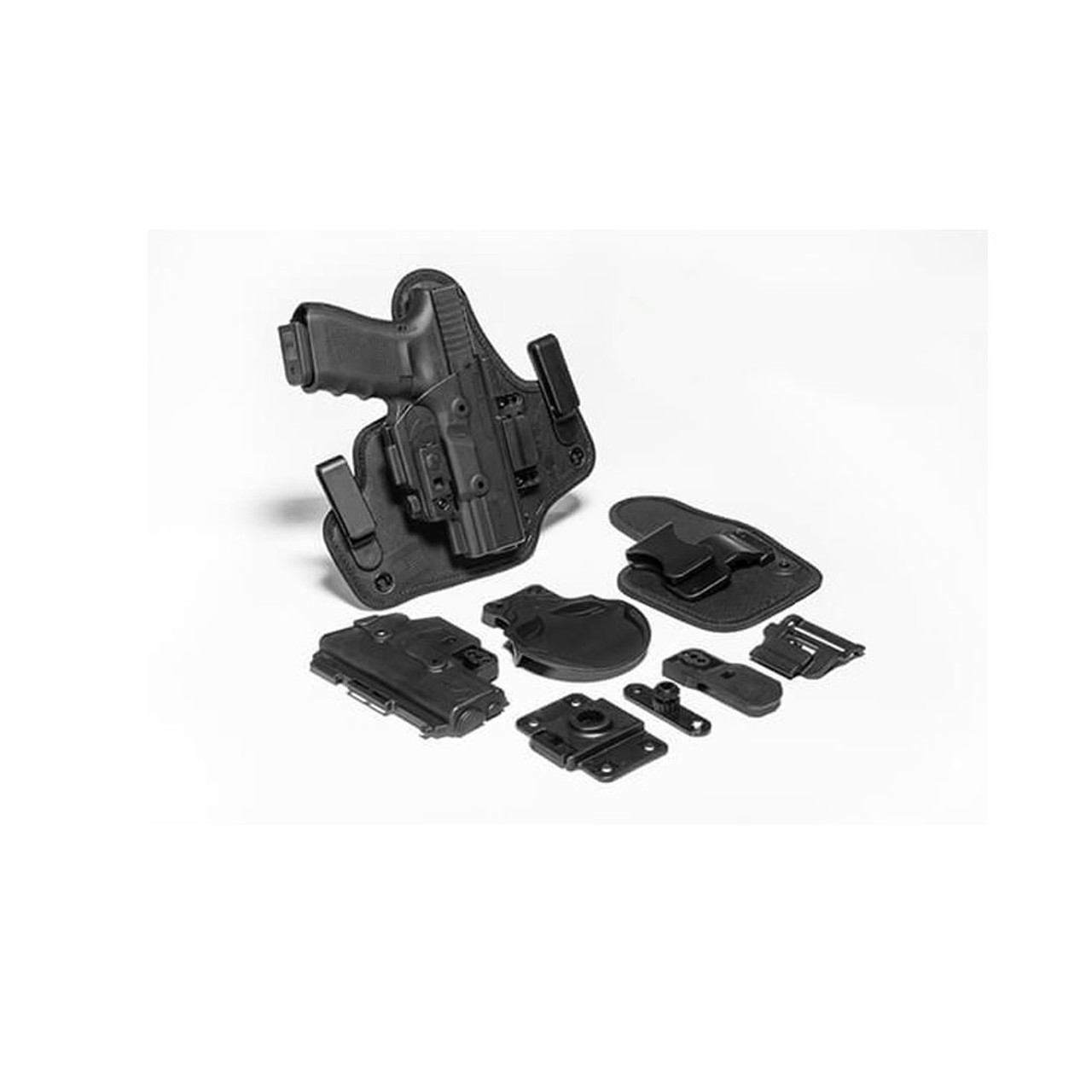 ALIEN GEAR ShapeShift Springfield XD Mod 2 3in Subcompact 9mm/ 40 RH Black  Holster Starter Kit (SSHK-0694-RH-R-15-XXX)
