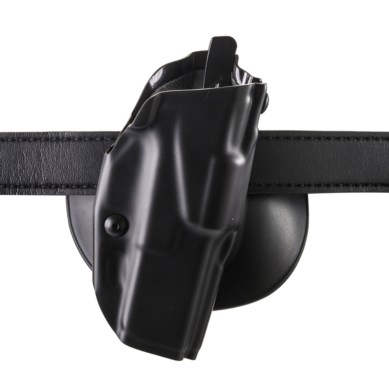 SAFARILAND 6378 S&W Small J-Frame Plain Black RH Paddle Holster  (6378-01-411)