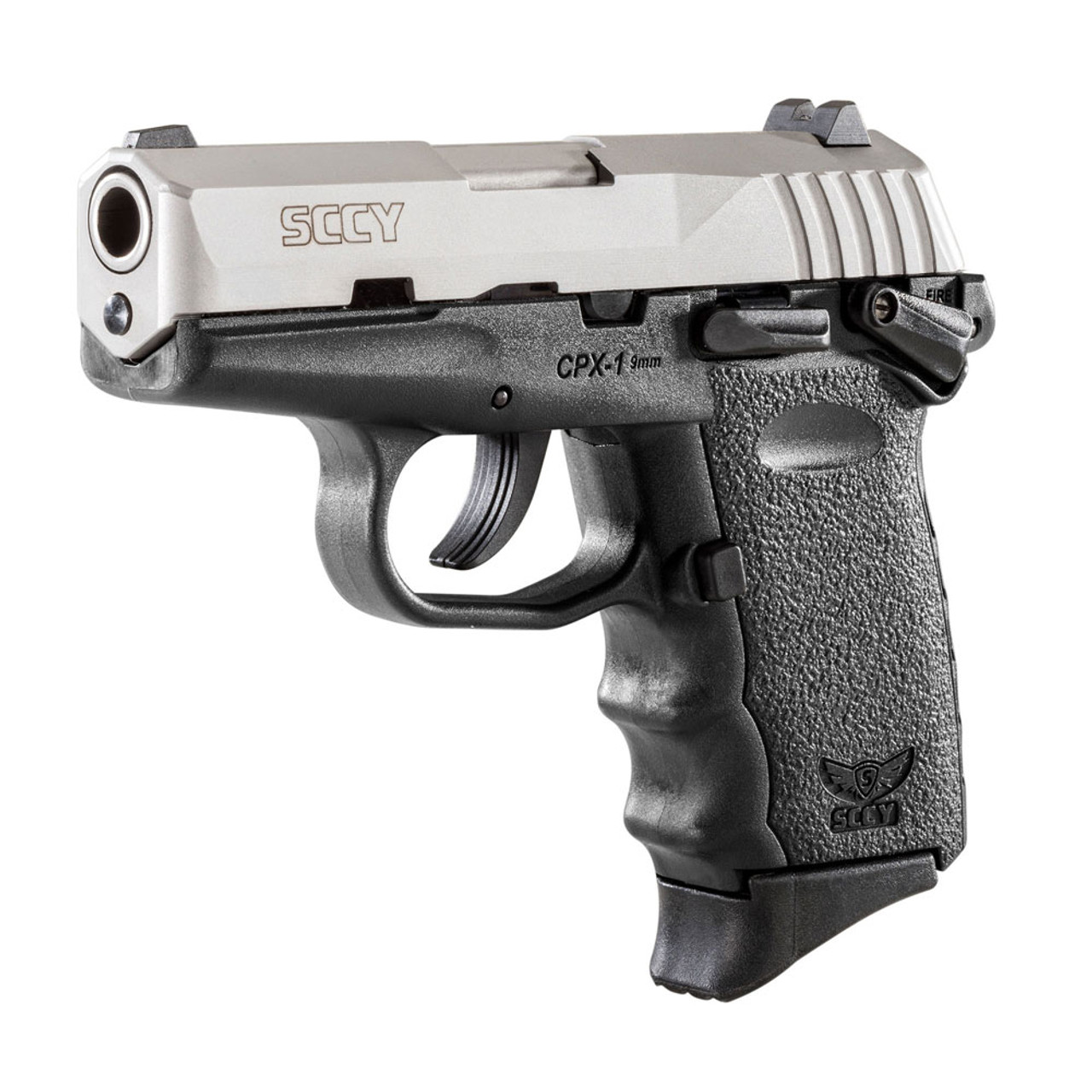 SCCY CPX-1 Compact 9mm 3 1in 10rd 3 Dot Sights Duo-Tone Pistol (CPX-1-TT)
