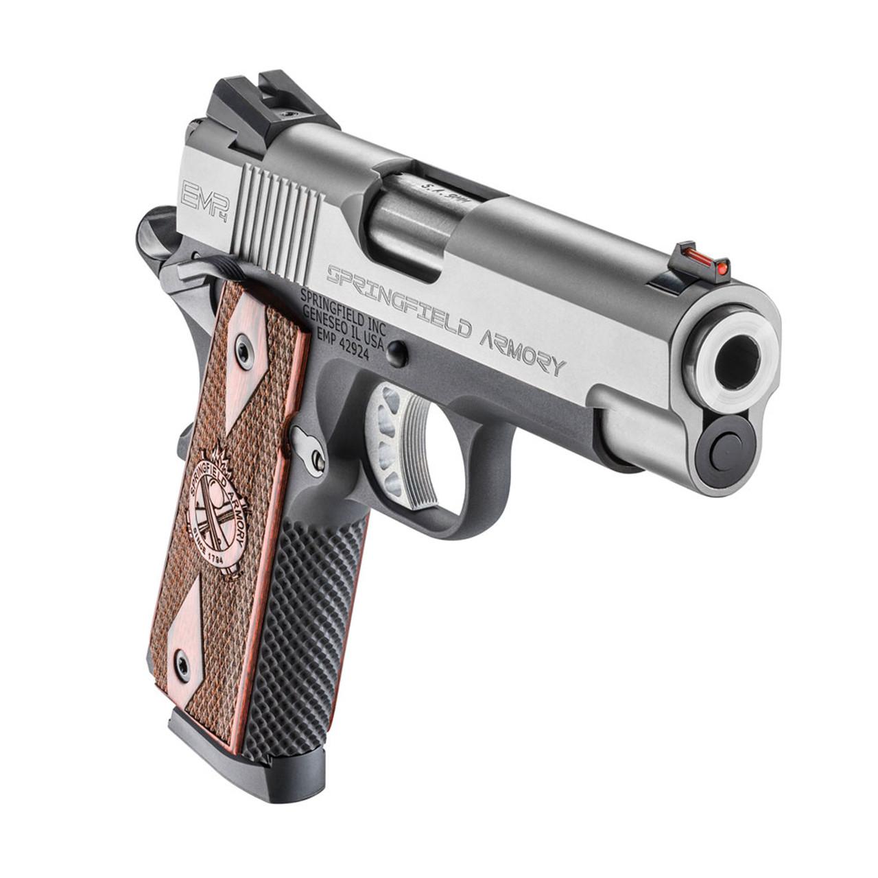 SPRINGFIELD ARMORY 1911-A1 EMP Lightweight Champion 9mm 4in 10rd  Semi-Automatic Pistol (PI9211L)